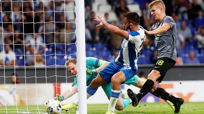 Monito Vargas convierte en el empate del Espanyol