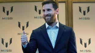 Leo Messi y su hermana María Sol presentan su nueva línea de ropa