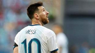 Leo Messi fue suspendido por tres meses