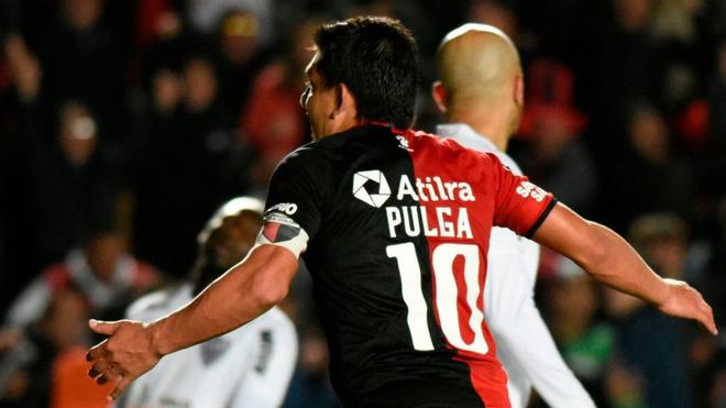 Colón recibe al Atlético Mineiro en la ida de la semifinal