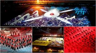 Las mejores imágenes de la inauguración del Mundial de Rugby