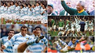 La historia de Los Pumas en los Mundiales de Rugby