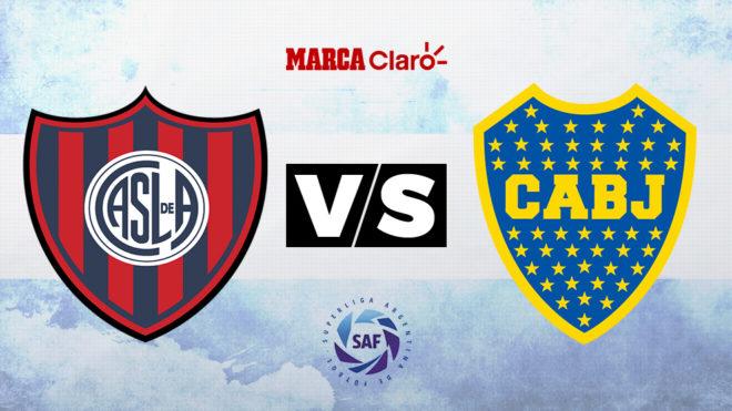 San Lorenzo vs Boca: horario y dónde ver en TV