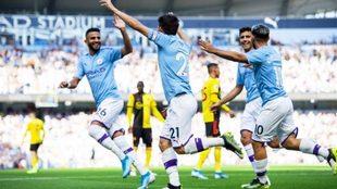 Histórica goelada del City en Premier League.