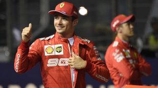 Leclerc enciende la temporada 2019 de la F1