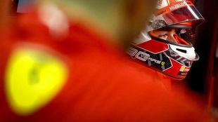 Leclerc tras la Qualy de Singapur