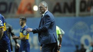 Alfaro analizó la victoria de su equipo.