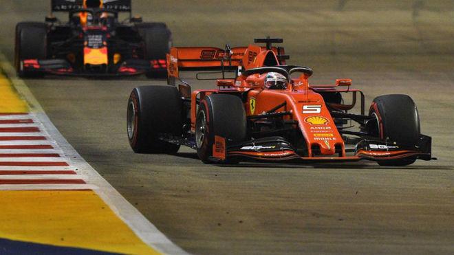 Ferrari resucita a Vettel, que gana su primera carrera de la temporada