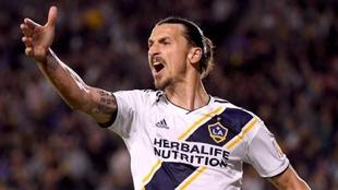 Zlatan Ibrahimovic, futbolista sueco en la MLS de Estados Unidos.
