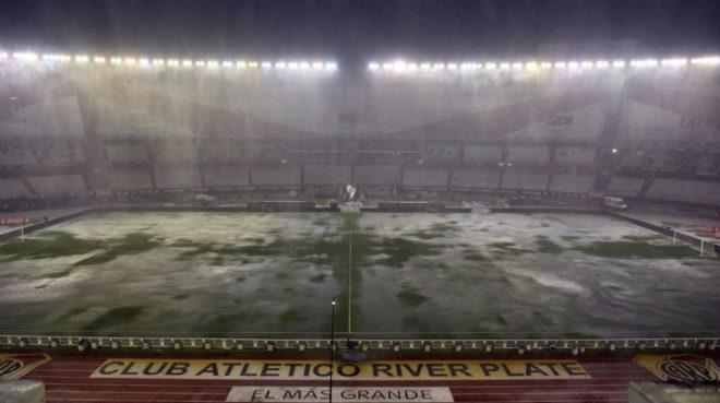 Argentina vs Brasil del 2015, se aplazó por las fuertes lluvias