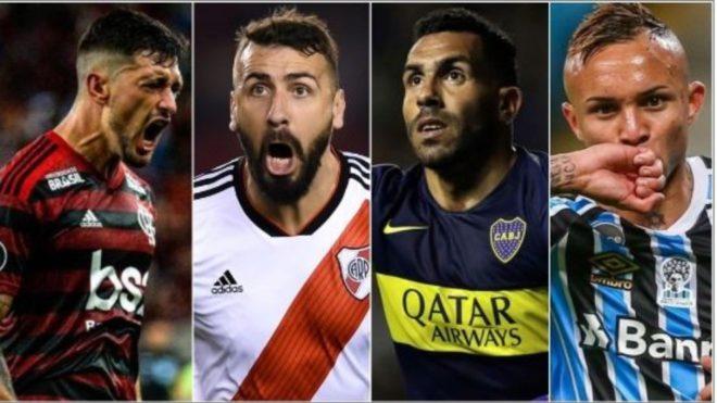 Flamengo, River, Boca y Gremio, quienes buscan ser finalistas de la...