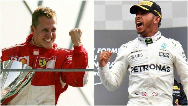 Lo (poco) que le queda a Hamilton para superar a Schumacher