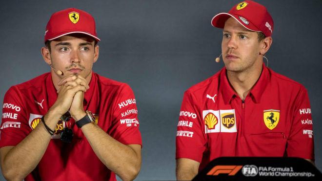 """Problemas en Ferrari: """"Leclerc y Vettel no se soportan más"""""""