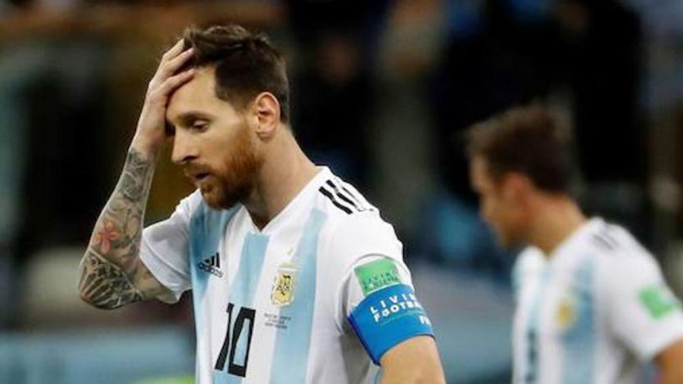 Conmebol rechazó el pedido de Messi y le mantuvo la sanción