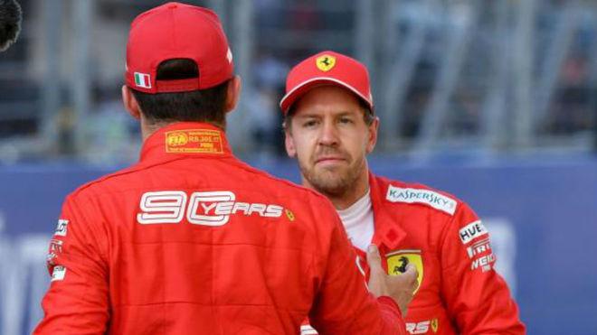 Vettel ya no es feliz en Ferrari