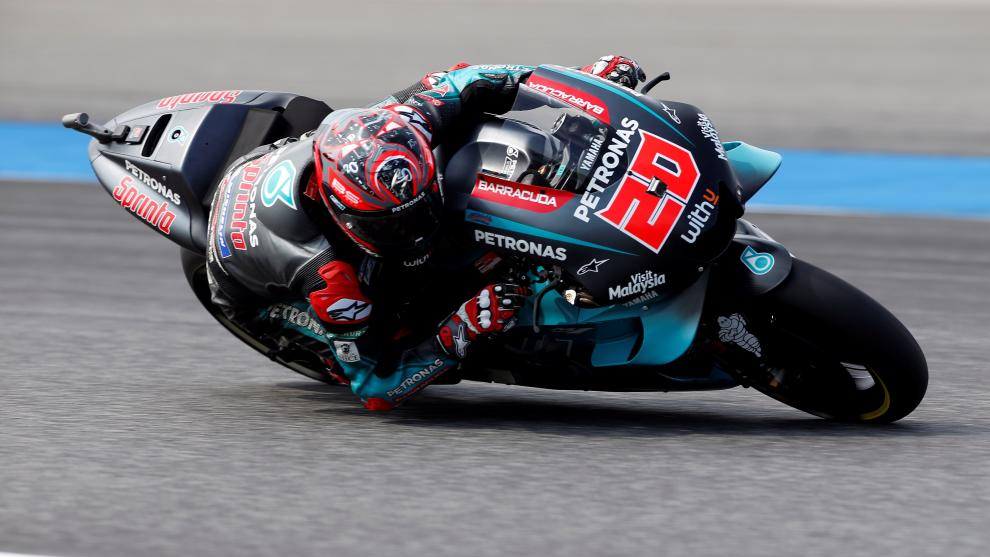 Fabio Quartararo en el GP de Tailandia