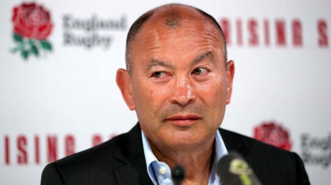 Eddie Jones, entrenador de Inglaterra