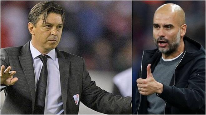 Marcelo Gallardo le respondió a Pep Guardiola.