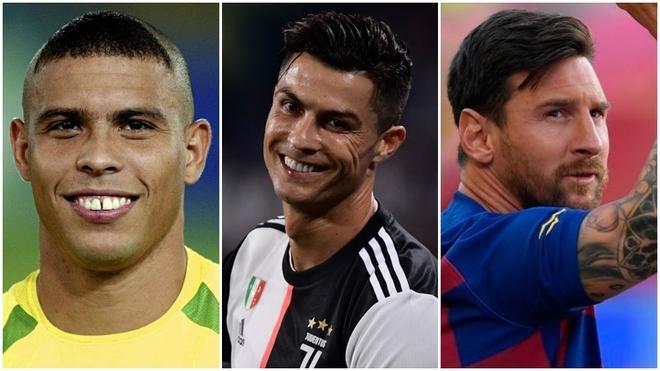 Ronaldo, Messi y CR7.