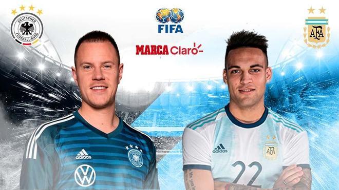 Alemania vs Argentina: Horario y dónde ver en TV online el amistoso...