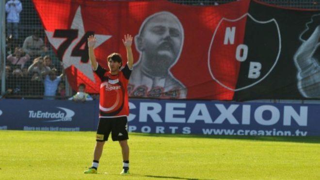 Leo Messi, surgido en las inferiores de la Lepra en Rosario.