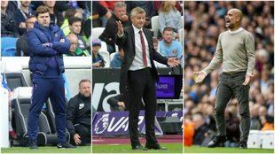 Pochettino, Solskjaer y Guardiola no han tenido un buen arranque