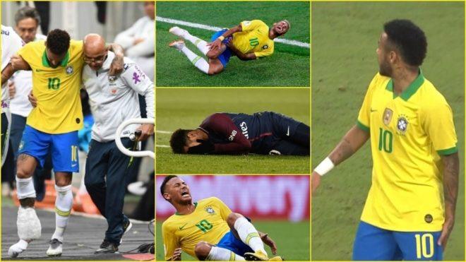 La 'pesadilla' de las lesiones que persigue a Neymar