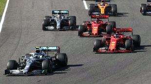 """Leclerc: """"Vettel se movió en la salida y eso me distrajo"""""""