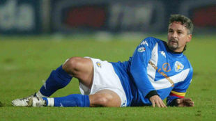 """Baggio: """"Después de mi primera operación de rodilla le pedí a..."""