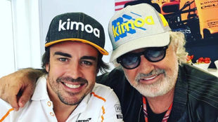 "Briatore avisa a Ferrari: ""Si quieren ganar, que vuelva Fernando..."