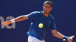 Delbonis cae en su debut en el ATP de Amberes