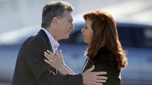 Cristina Fernández reitera que Mauricio Macri es un...