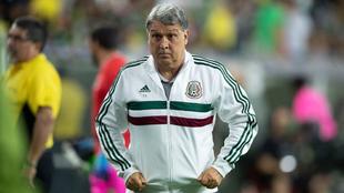 Tata Martino se mostró furioso con la Concacaf