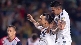 Ibrahimovic y Pavón en Los Ángeles Galaxy