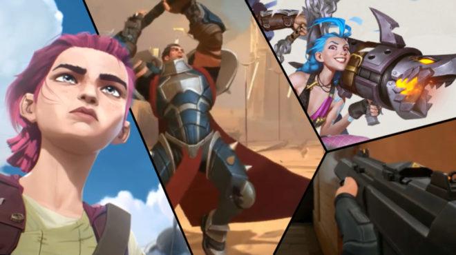Riot Games anuncia 5 nuevos juegos y una serie de animación