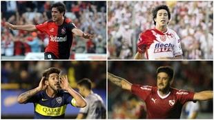 Pablo Pérez vistió las camisetas de Newell's, Unión,...
