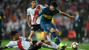 La fórmula de Pablo Pérez para que Boca revierta la serie ante River...