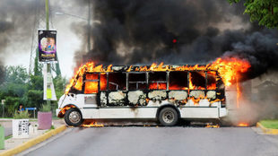 Disturbios en Culiacán por la detención de uno de los hijos del...