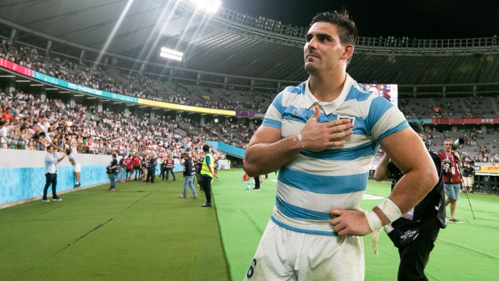 Pablo Matera le agradece al público argentino en Japón