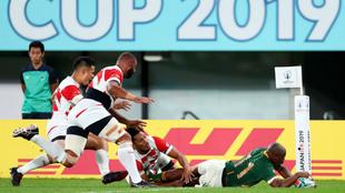 Sudáfrica usa su oficio y pone fin a la aventura de Japón