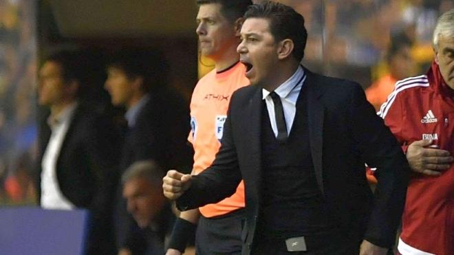 Marcelo Gallardo, entrenador de River.