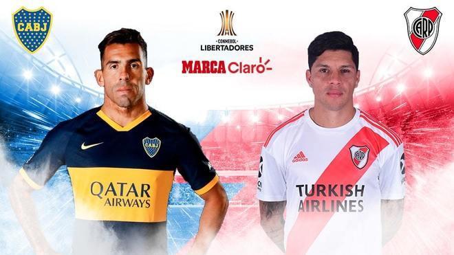 Boca Juniors vs River Plate, la vuelta de semifinales de libertadores...