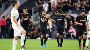 Los Ángeles FC vencieron a Los Ángeles Galaxy