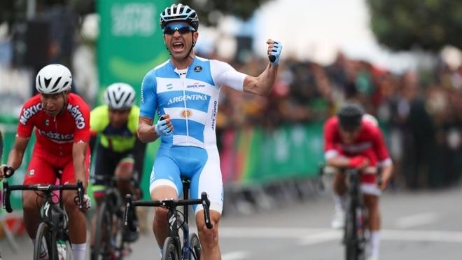 Maximiliano Richeze, reciente medalla de oro en los Juegos...