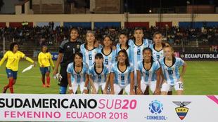 El último Sudamericano Sub 20 Femenino se disputó en Ecuador en 2018