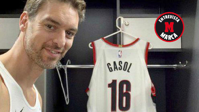 Paul Gasol habló en exclusiva con MARCA