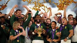 Sudáfrica se quedó con la Copa Webb Ellis