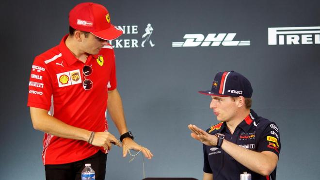"""Leclerc responde a Verstappen: """"No sabe nada de nosotros, no tiene ni..."""