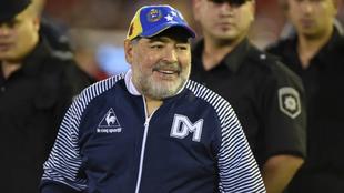 Diego Maradona y un duro mensaje