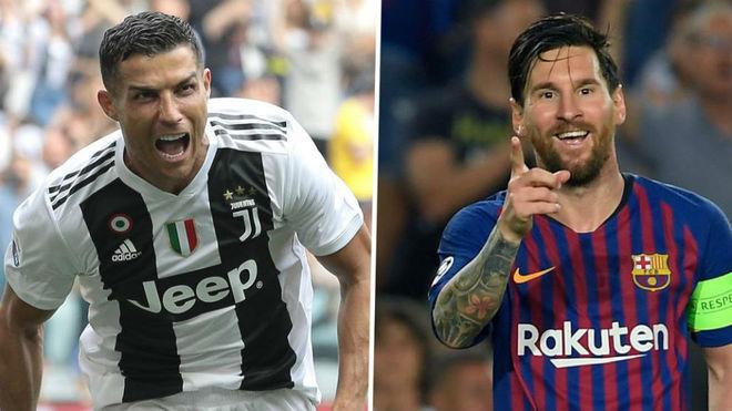 Messi le respondió a Cristiano Ronaldo